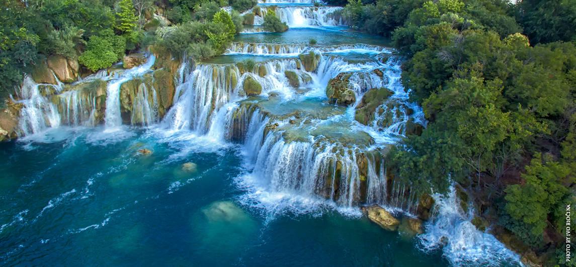 Krka Watervallen actieve vakantie wandelen