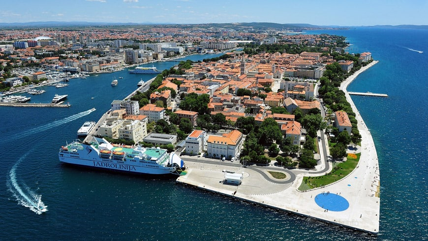 Vakantie naar Zadar