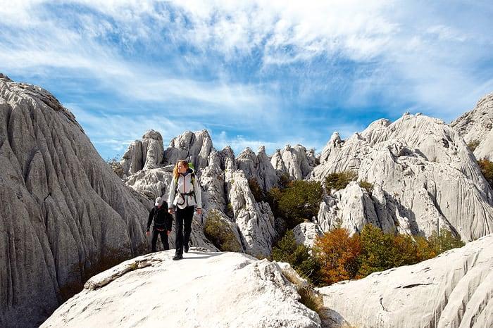 paklenica hiking actieve vakantie