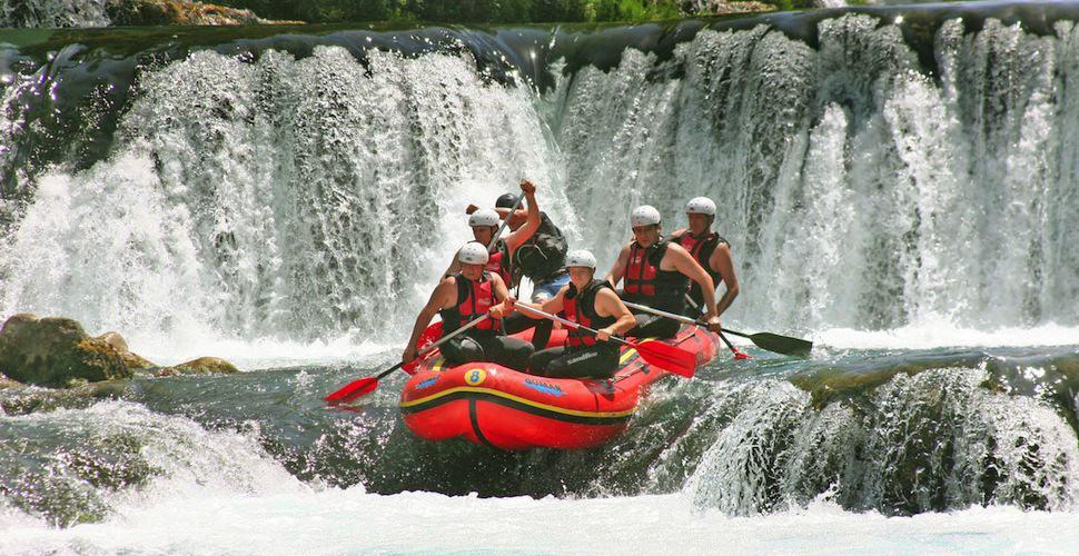 Dag 5: Rafting Nationaal Park Una