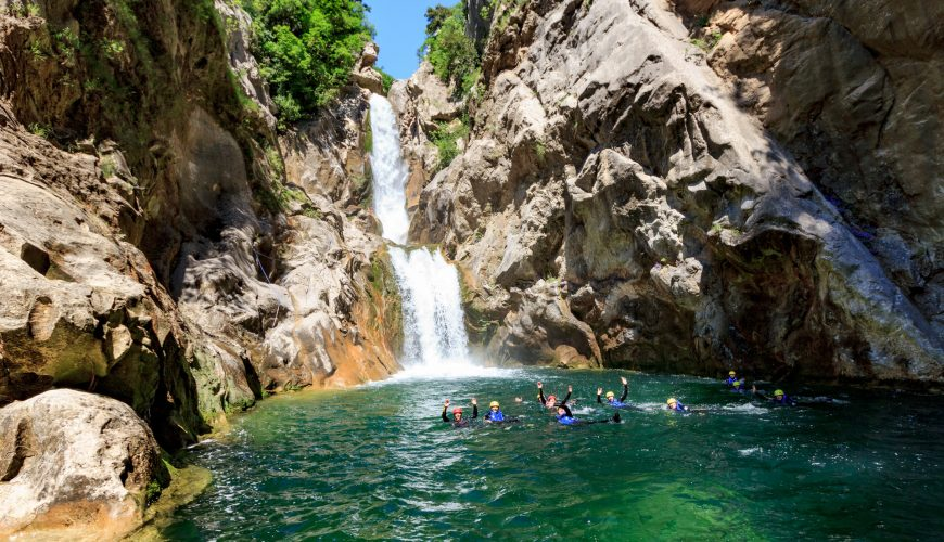 Omis Split Cetina Canyoning