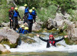 Omis Cetina Canyoning
