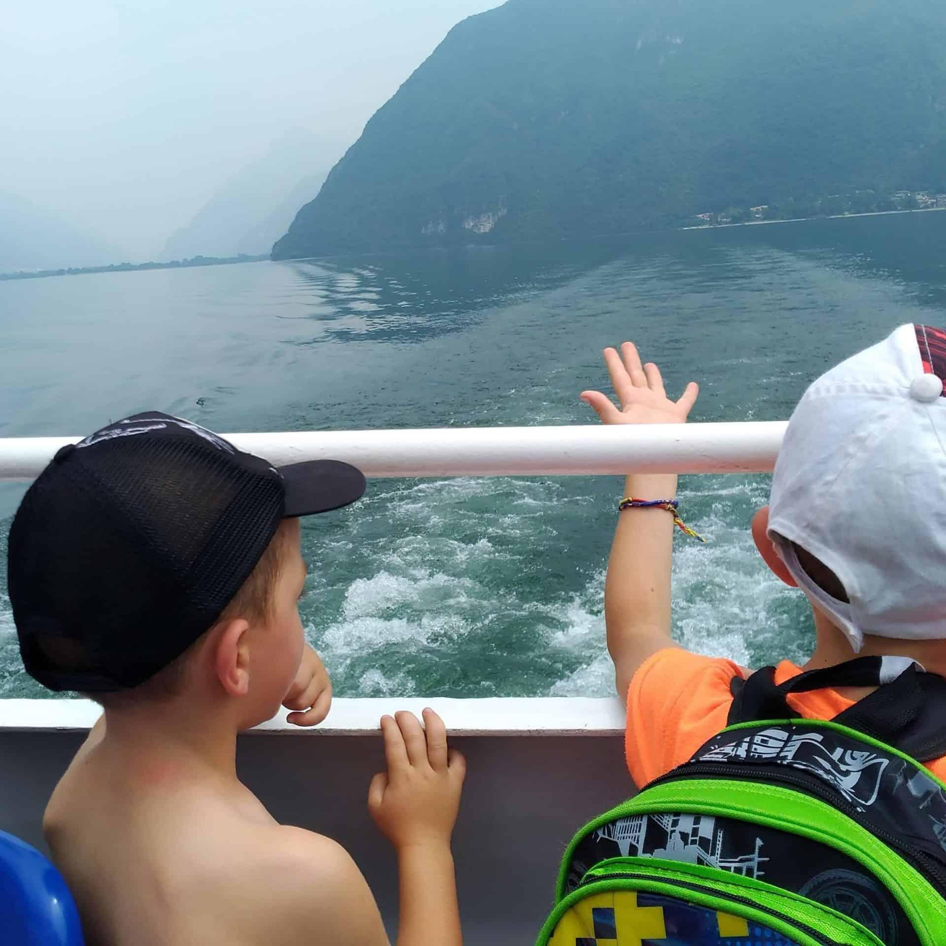 Dag 4. Boat tocht Idromeer