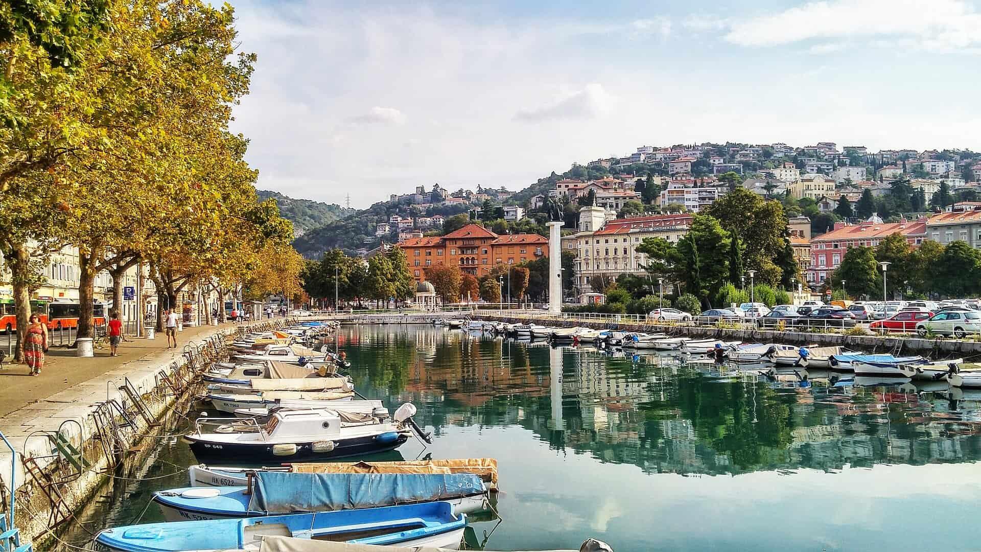 Vakantie naar Rijeka en Kroatie