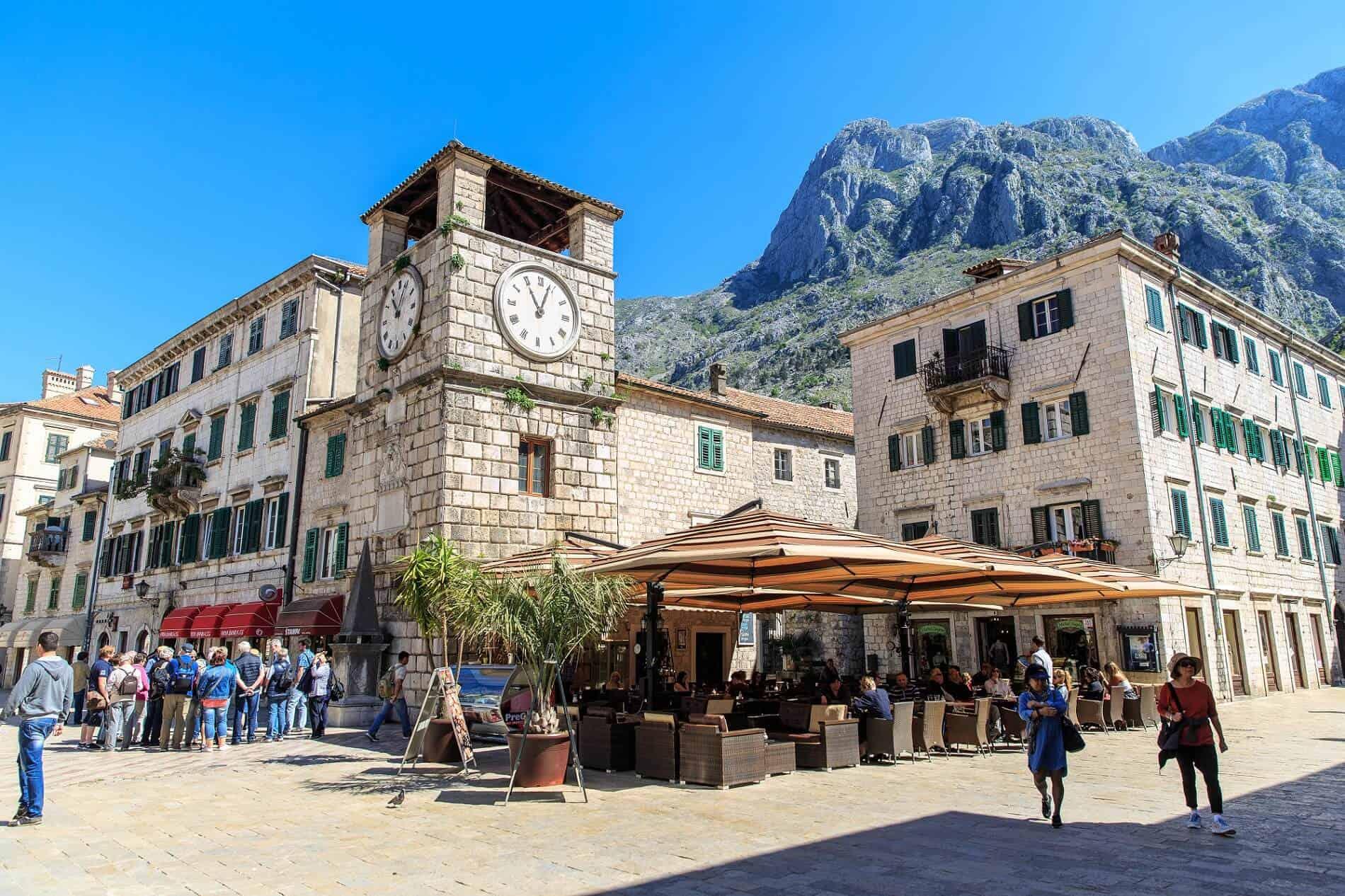 Bok Kotor baai vakantie in Montenegro