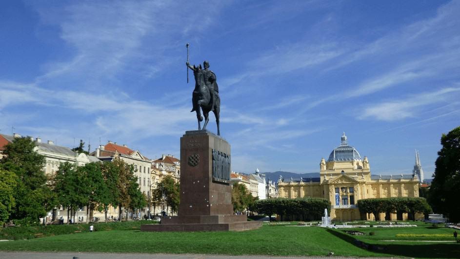 Dag 1: Aankomst in Zagreb